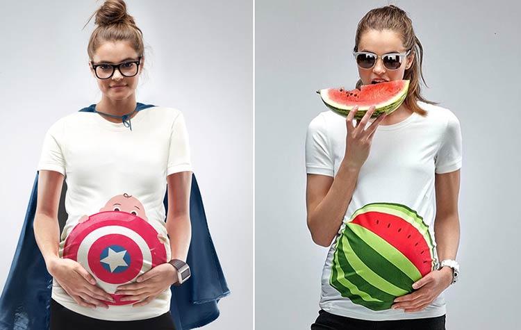 необычные фотографии беременных