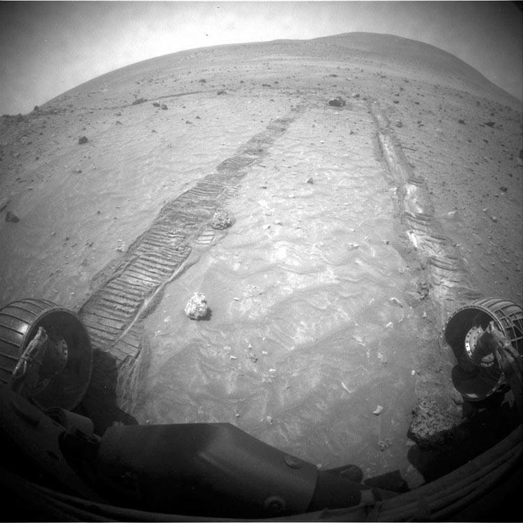 фото планеты марс с марсохода