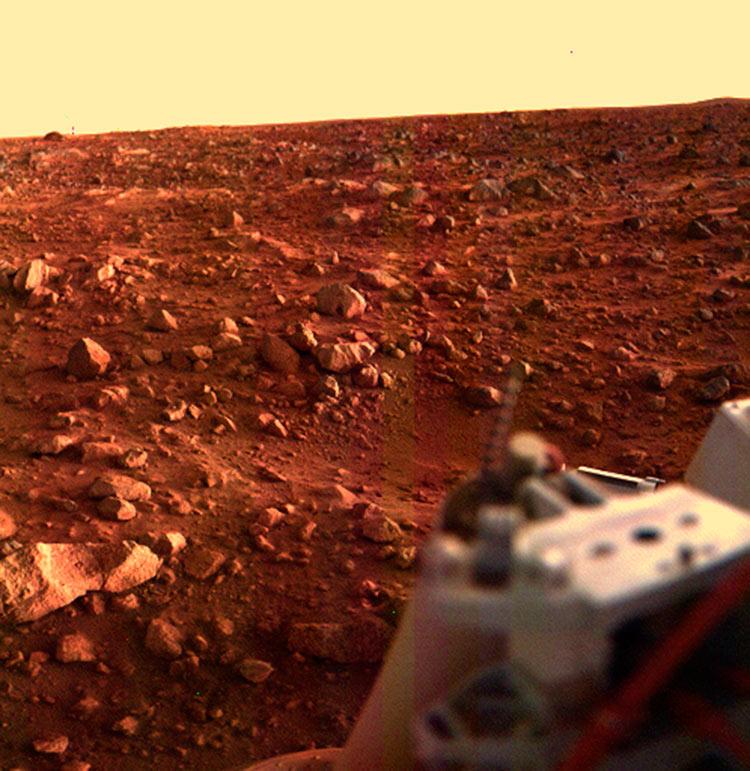 исследование красной планеты