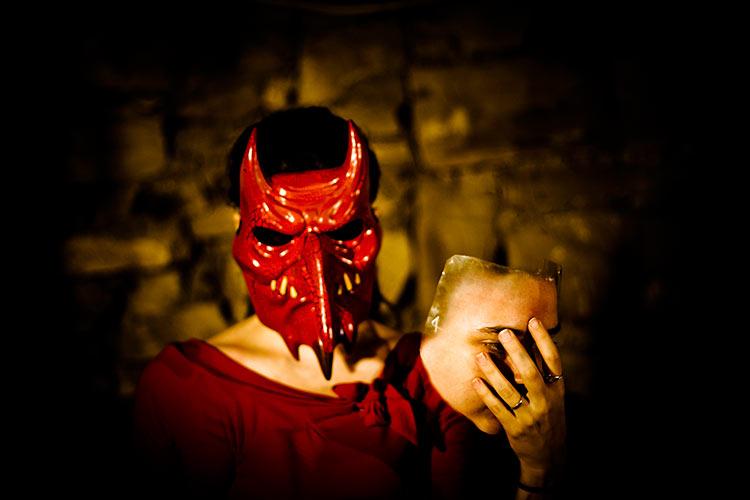 костюм дьяволицы на хэллоуин