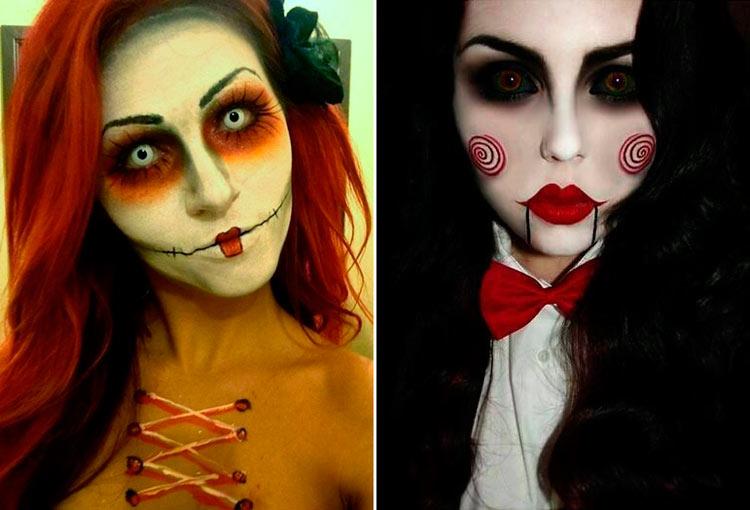 костюм куклы на хэллоуин