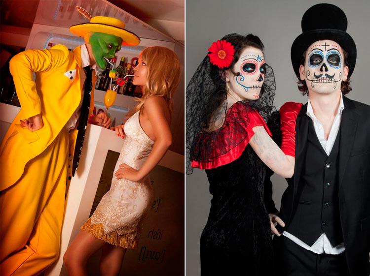 костюмы на хэллоуин для пары