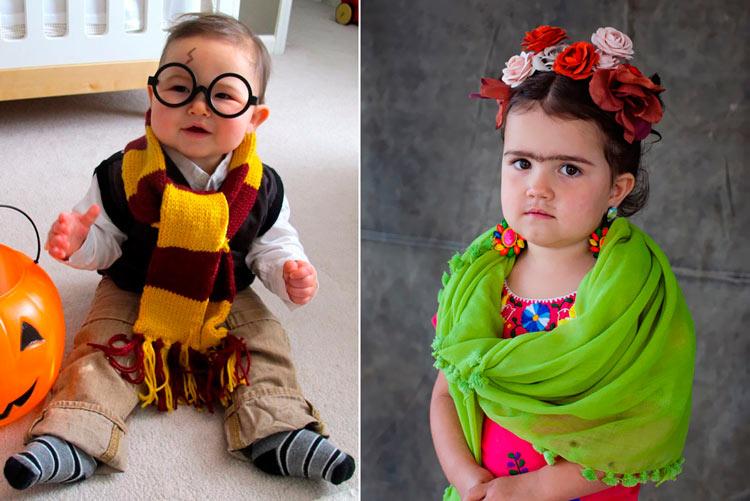 костюмы на хэллоуин фото для детей