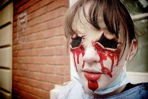 самые страшные костюмы на хэллоуин