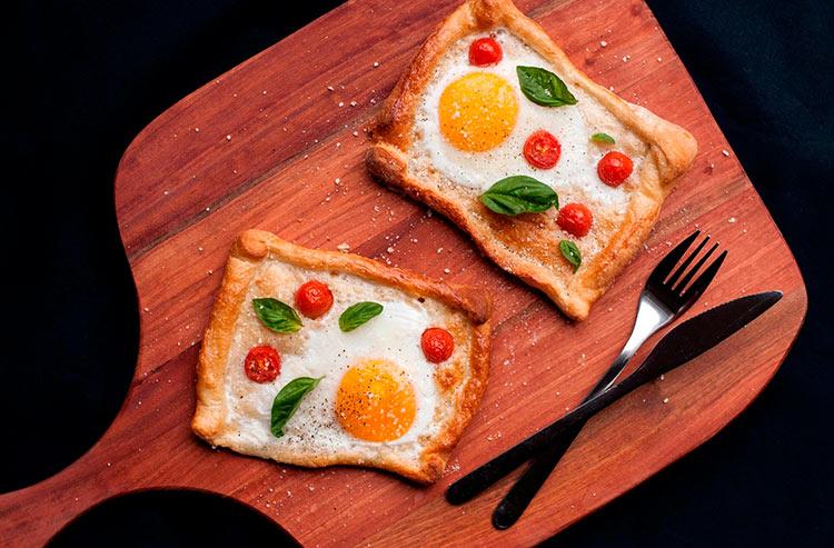 фото завтраков в постель