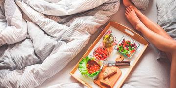 картинки красивого завтрака в постель