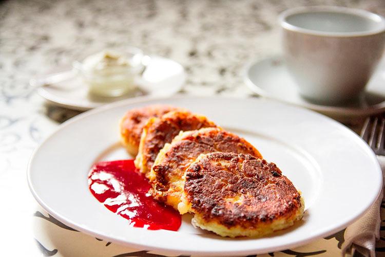 вкусный завтрак для любимого