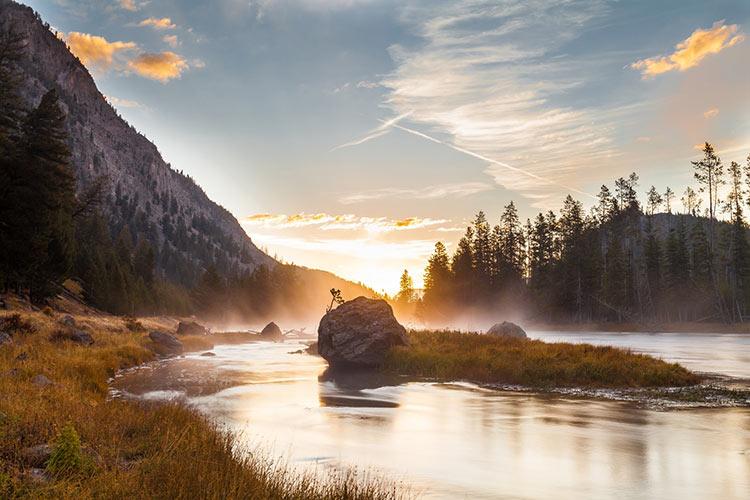йеллоустонский национальный парк вайоминг сша картинки