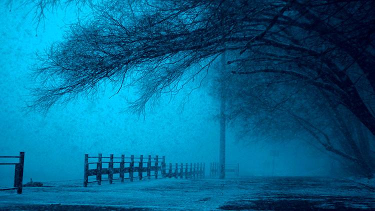 уютная зимняя ночь фото