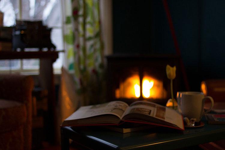 уютные фото с кофе и книгой