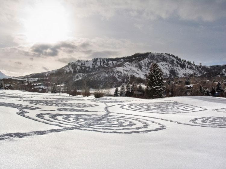 снег в искусстве