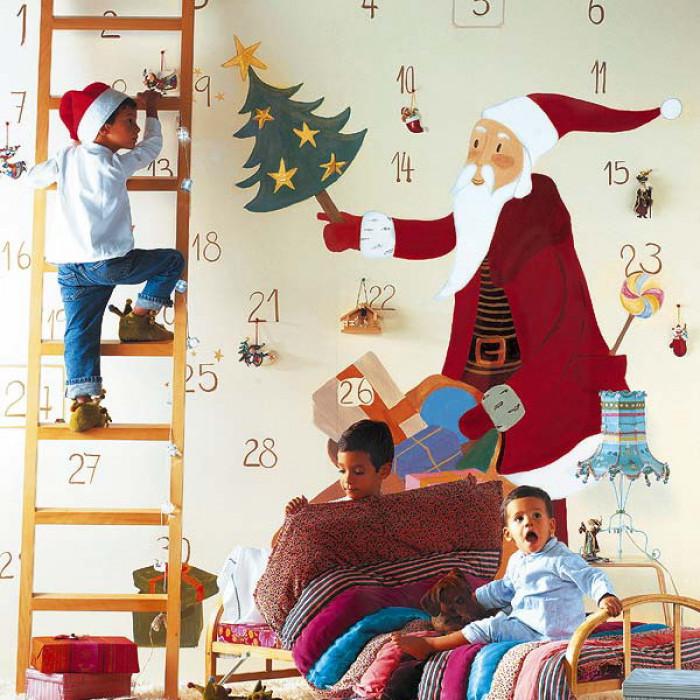 детская комната на новый год 2