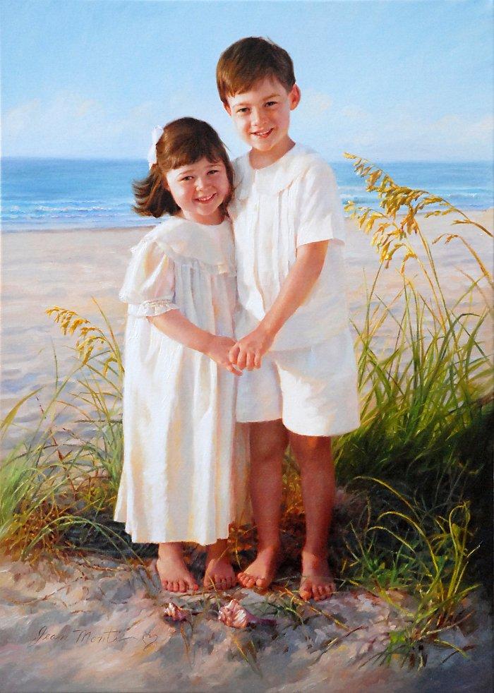 красивые портреты девочек мальчиков семей 5