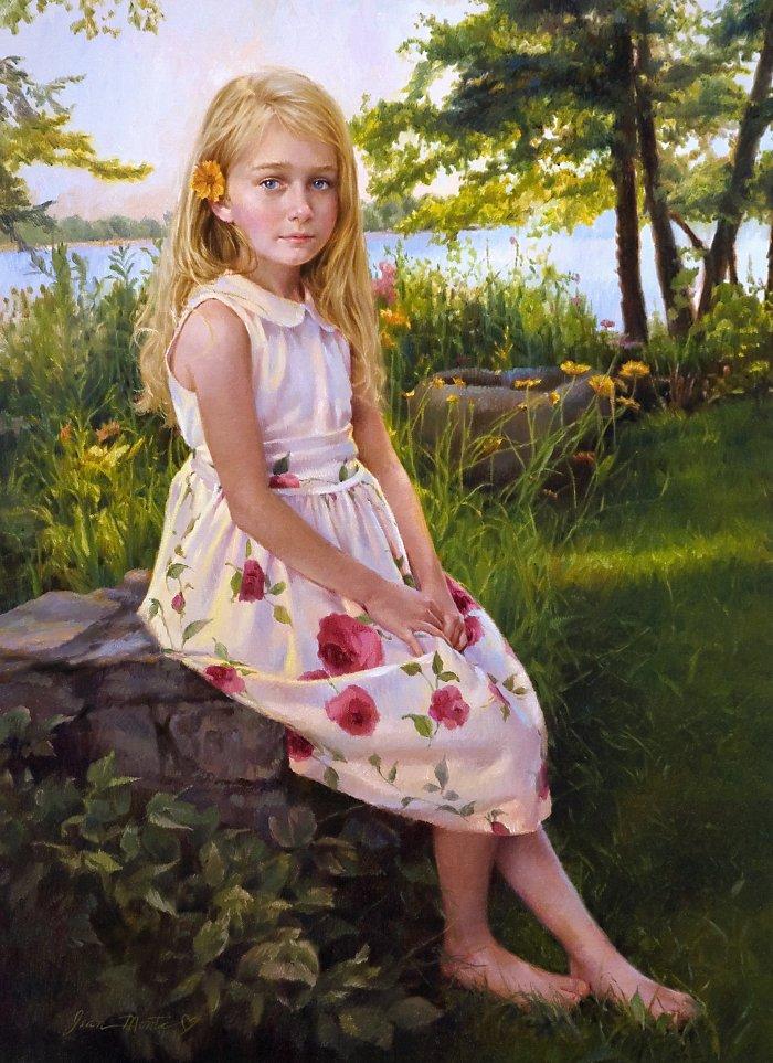 красивые портреты девочек мальчиков семей 23