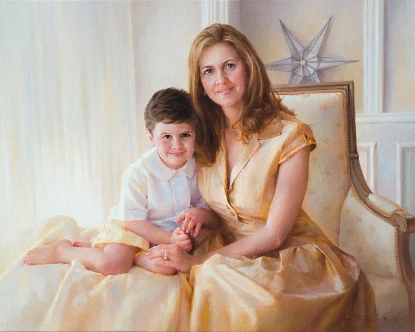 красивые портреты девочек мальчиков семей 24