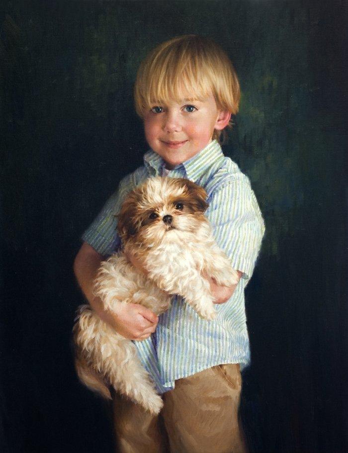 красивые портреты девочек мальчиков семей 25