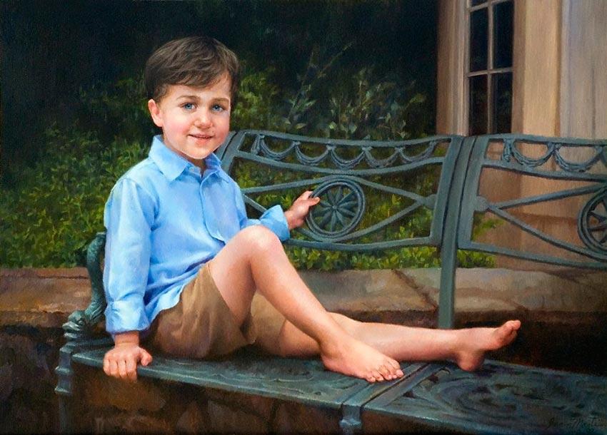 красивые портреты девочек мальчиков семей 27