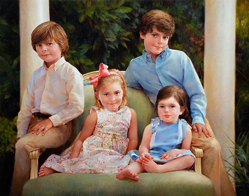 красивые портреты девочек мальчиков семей 29