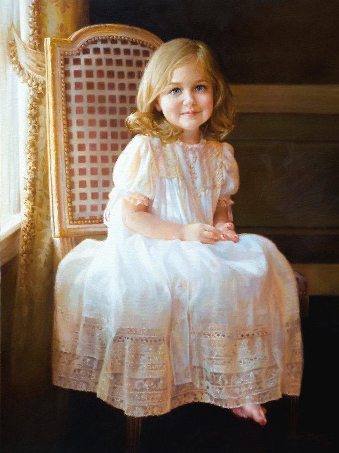 красивые портреты девочек мальчиков семей 30