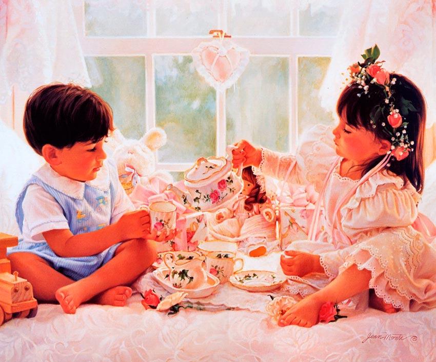 красивые портреты девочек мальчиков семей 34