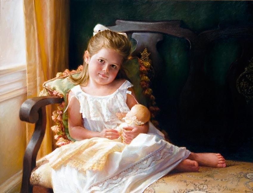 красивые портреты девочек мальчиков семей 39