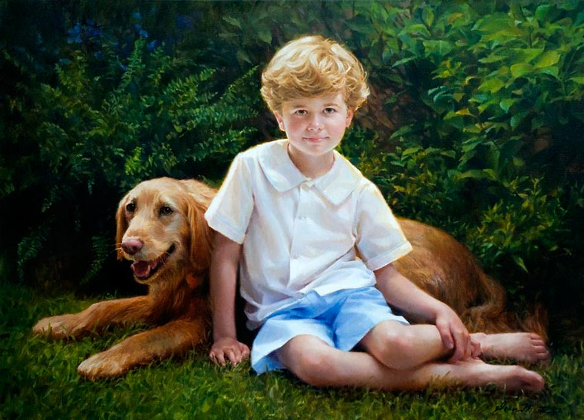 красивые портреты девочек мальчиков семей 40