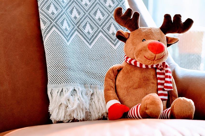 украшение детской комнаты к новому году игрушка