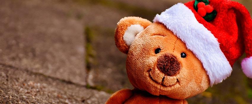 украшение детской комнаты к новому году мишка