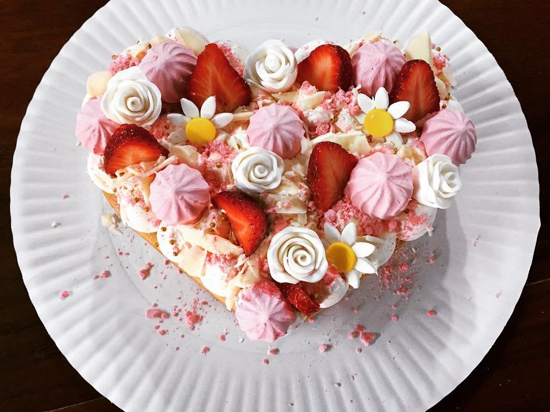 самый лучший торт на день святого Валентина фото