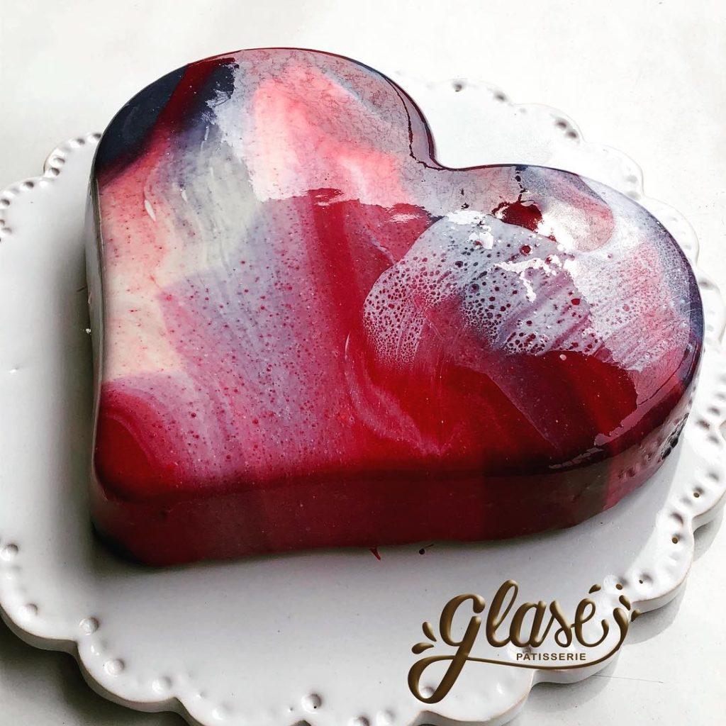интересный торт на день святого Валентина фото