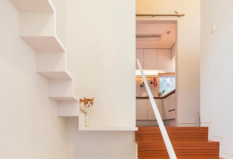 дизайнерская мебель для котов фото