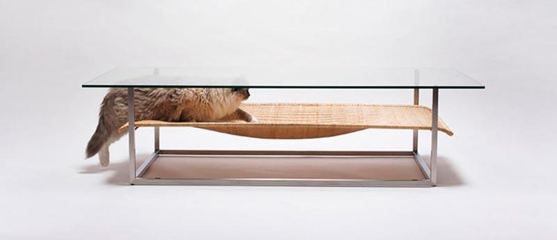 подвесная мебель для кошек
