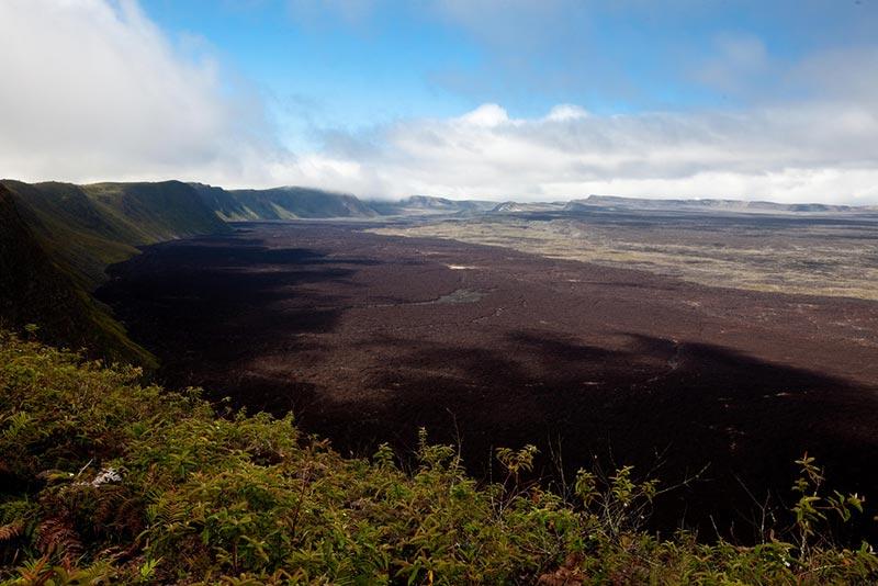 Самые крупные вулканы мира сьерра негра Санто-Томас