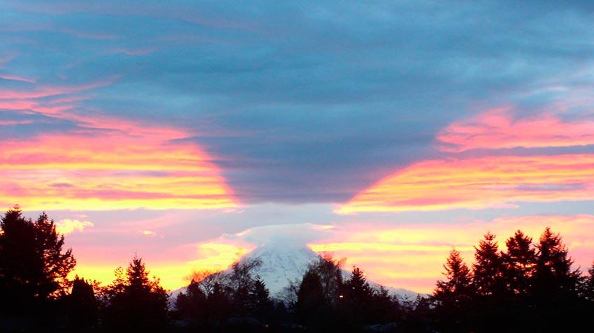 Гора Рейнир штат Вашингтон США 4