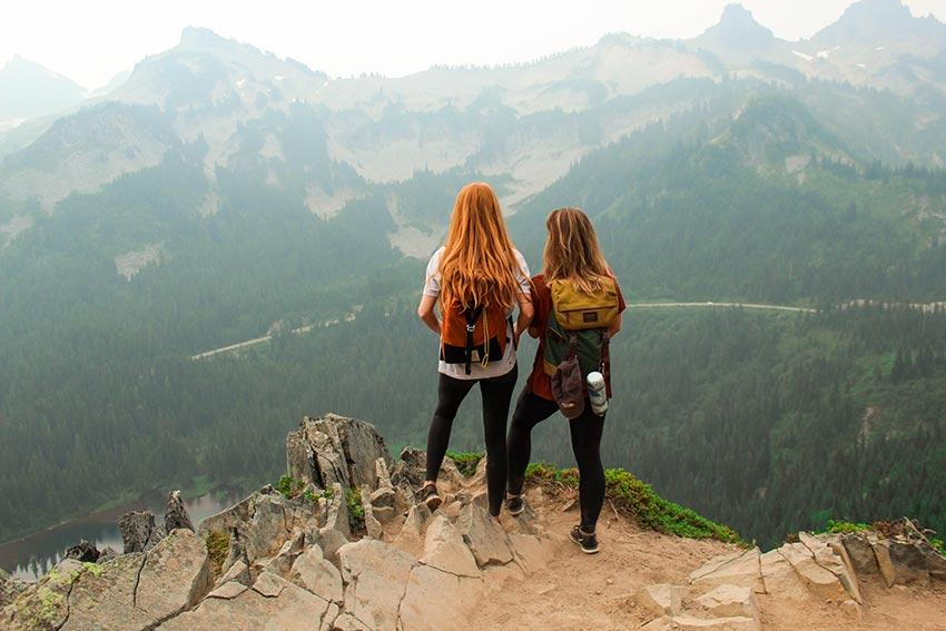 Гора Рейнир штат Вашингтон США 5
