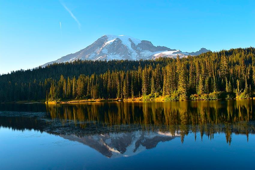 Гора Рейнир штат Вашингтон США 10