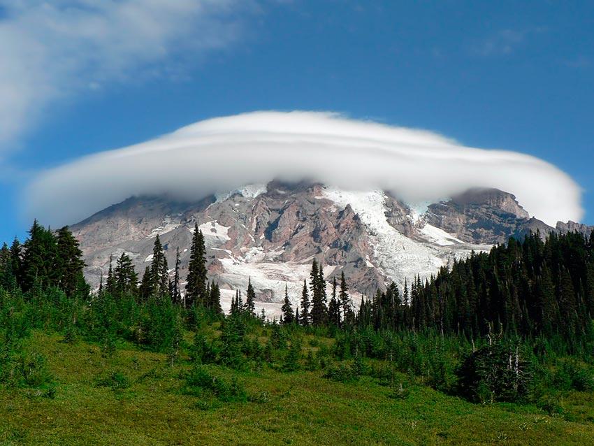 Гора Рейнир штат Вашингтон США 11