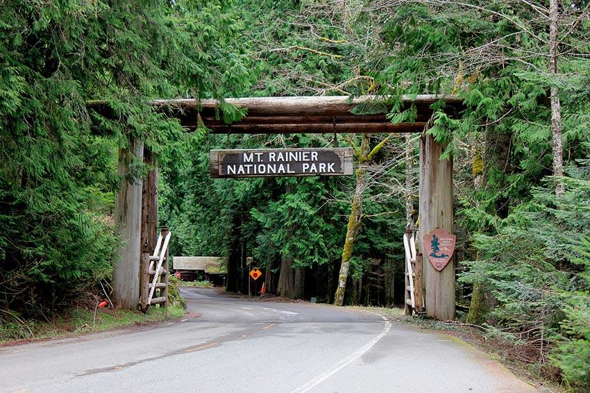 Гора Рейнир штат Вашингтон США 13