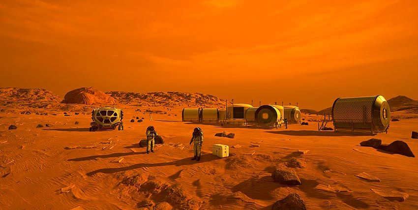 красная планета под названием Марс 1