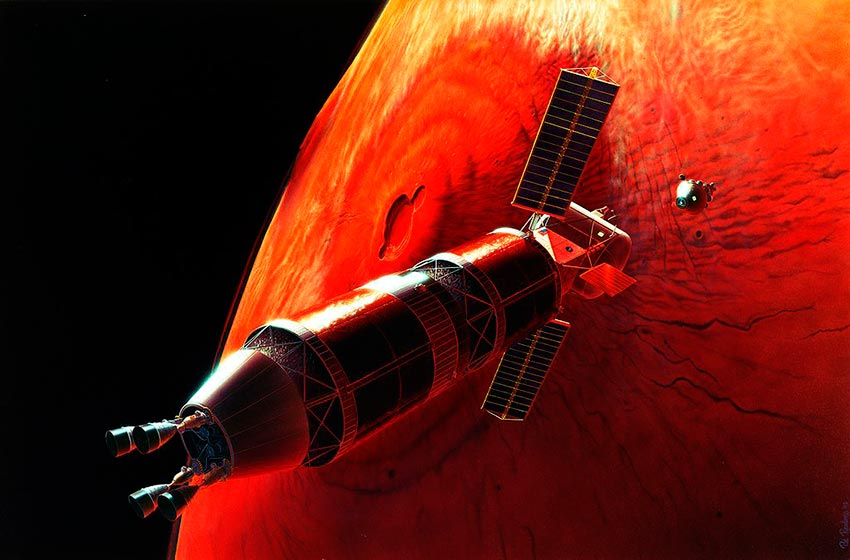 пилотируемый полет на Марс 1
