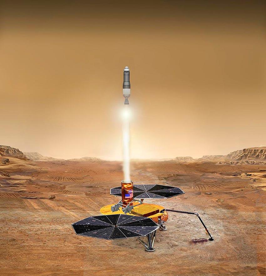 пилотируемый полет на Марс 3
