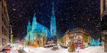 Вена зимой фото отдых