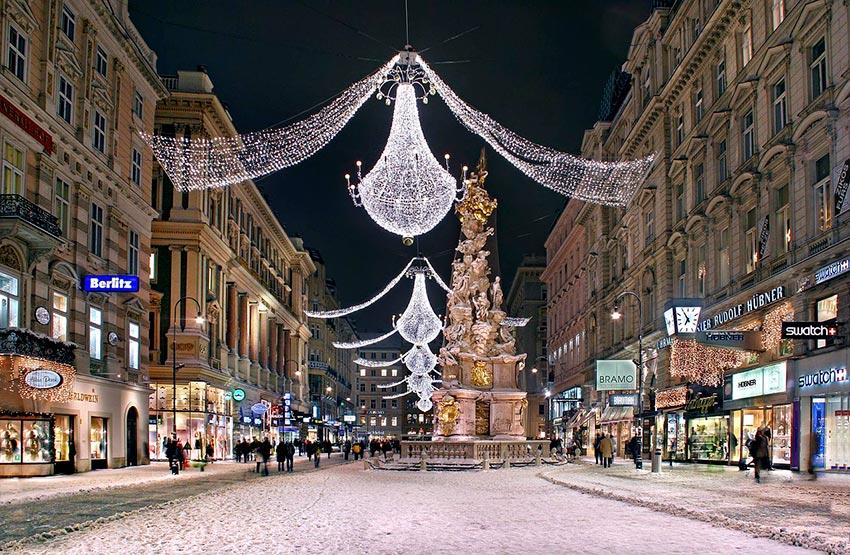Вена зимой фото отдых 63