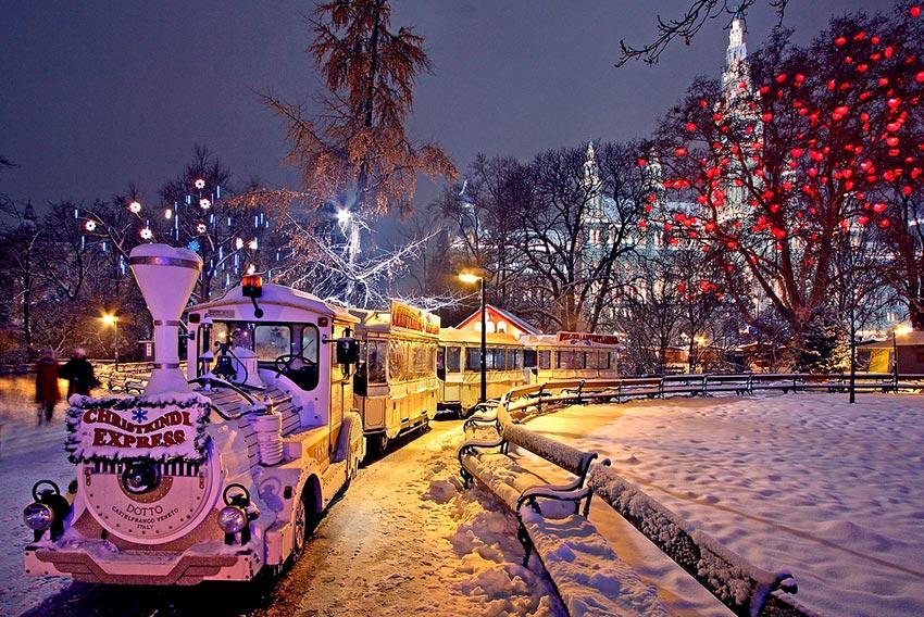 Вена зимой фото отдых 65