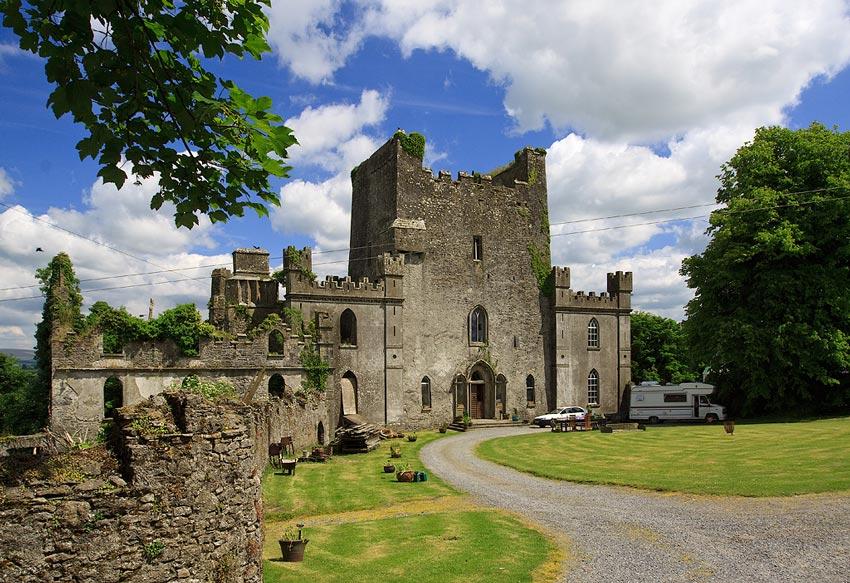 Замок Лип Ирландия фото 4