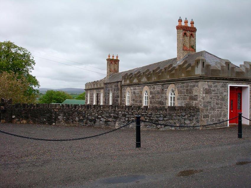 Замок Лип Ирландия фото 6