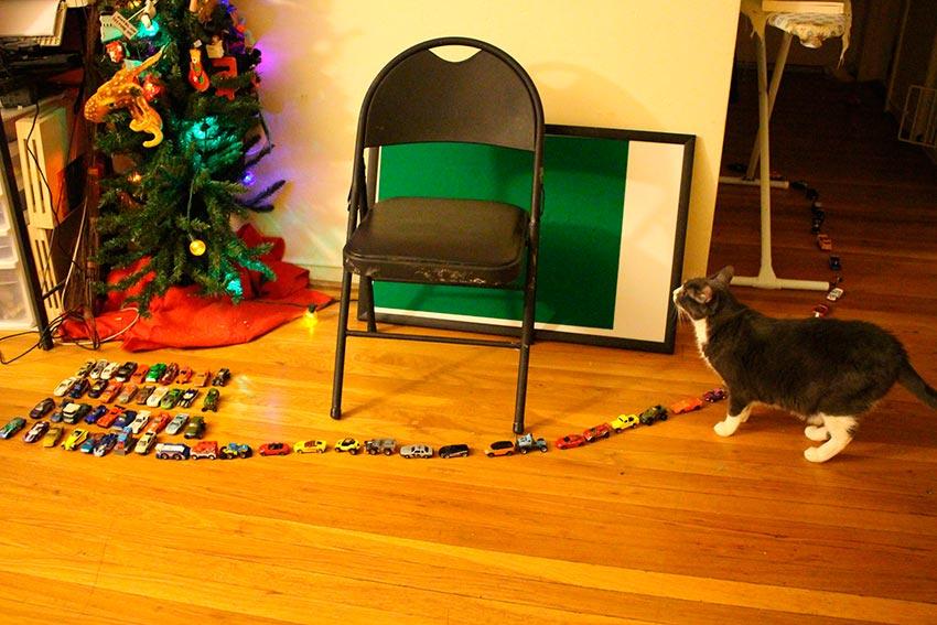 кот и новогодняя елка смешные фото 15