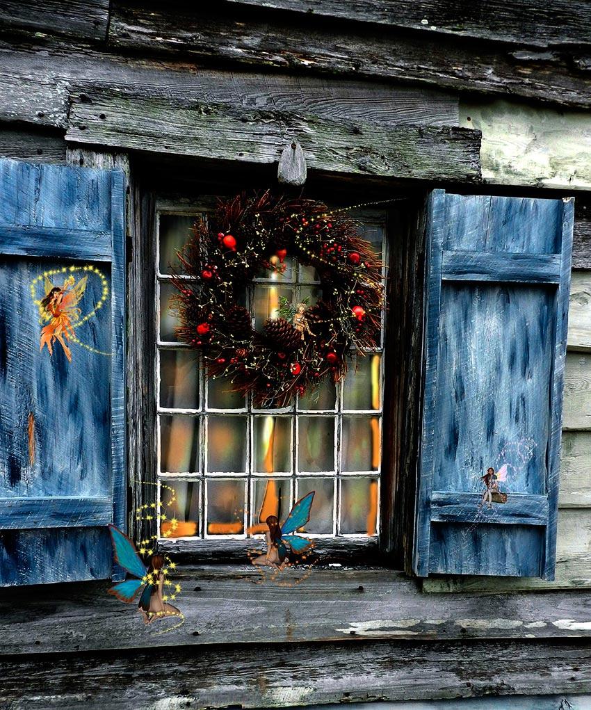 Рождественские венки история фото видео своими руками 11