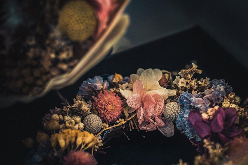 Рождественские венки история фото из цветов 15