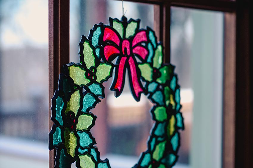 Рождественские венки плоские фото 20